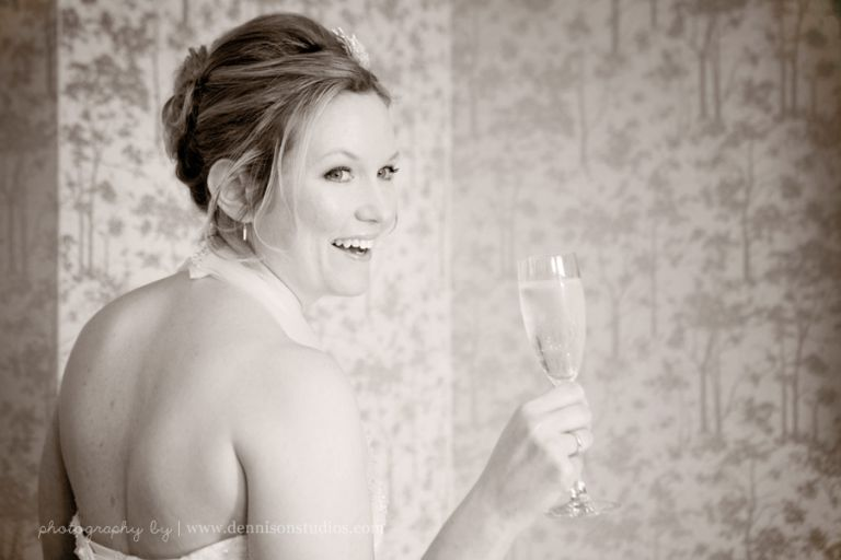 Champagne on your wedding day